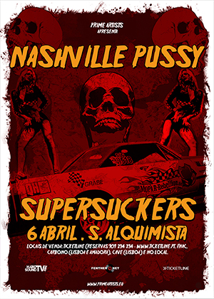 SUPERSUCKERS & NASHVILLE PUSSY - ABRIL 2009