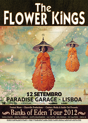 THE FLOWER KINGS - SETEMBRO 2012