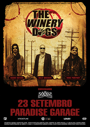 THE WINERY DOGS - SETEMBRO 2013