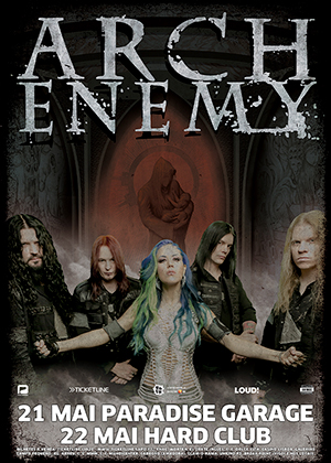 ARCH ENEMY - MAIO 2015