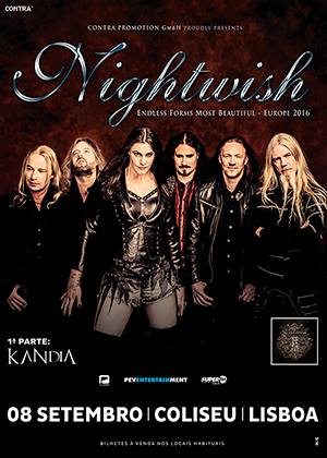 NIGHTWISH - SETEMBRO 2016
