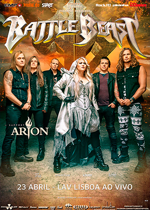 BATTLE BEAST - ABRIL 2019