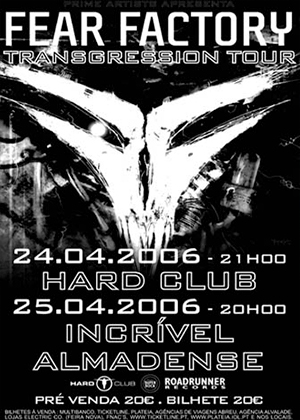FEAR FACTORY - ABRIL 2006